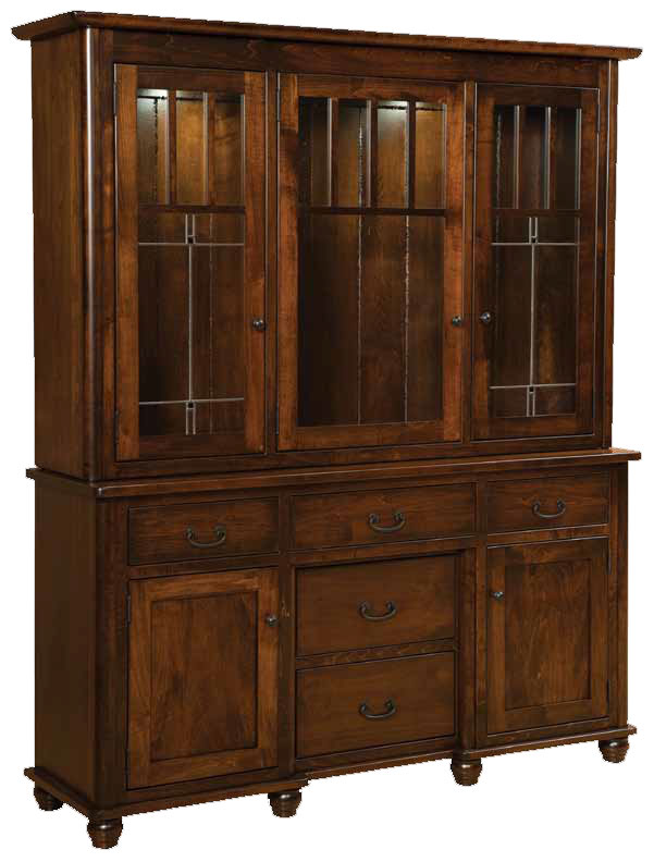 Amish Maple Hutch