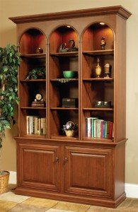 Add a custom bookshelf to your Library or Office!