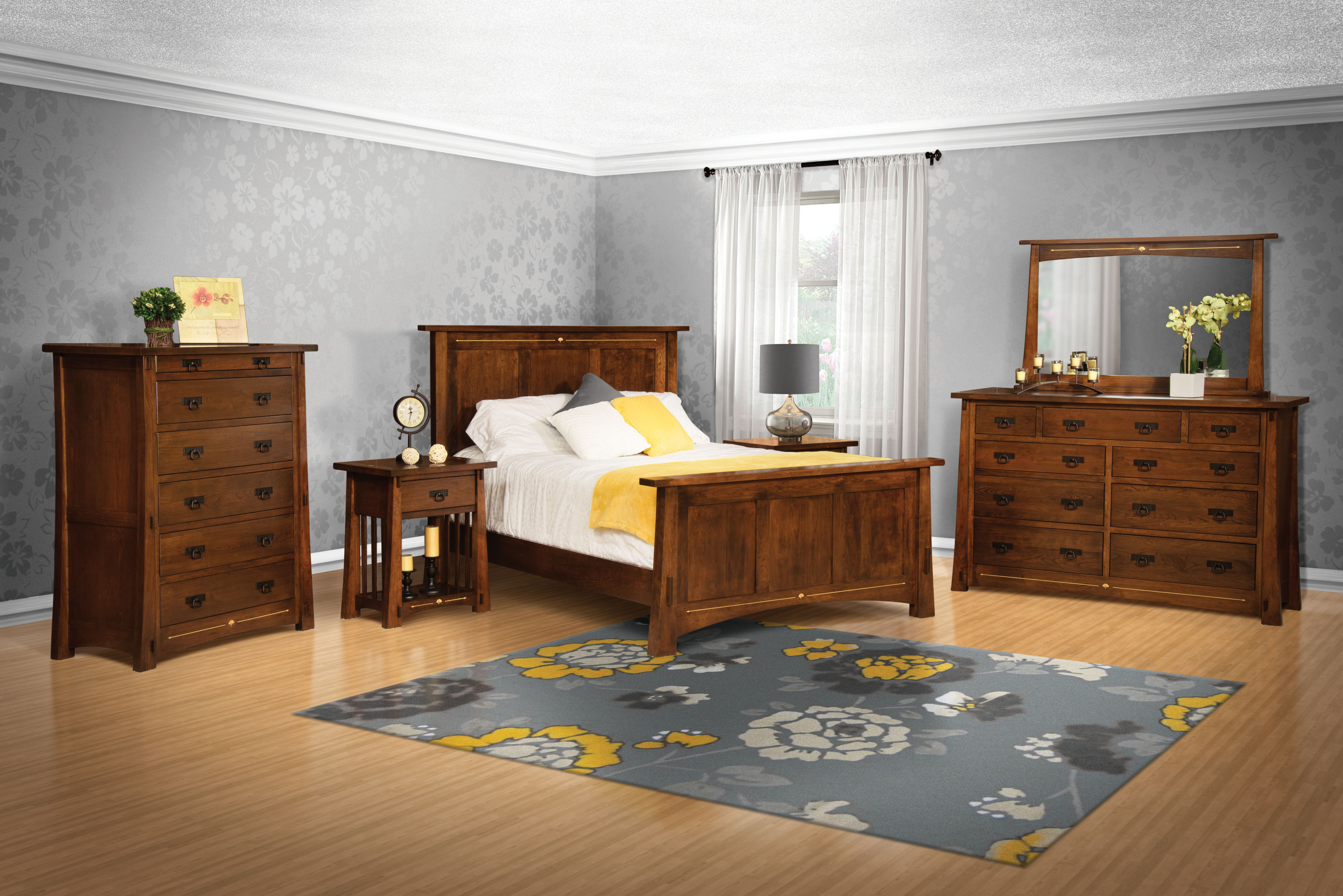 The Perfect Solid Wood Bedroom Suite For Your Home