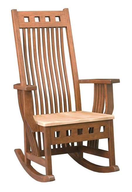 Rock the Winter Away in Your Favorite Wooden Rocking Chair
