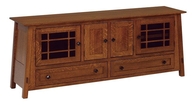 Enjoy Basketball Season with a New Wooden Entertainment Center