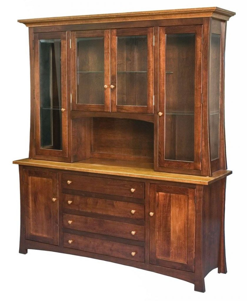 Deluxe Wooden China Cabinet to Hold Your Treasures