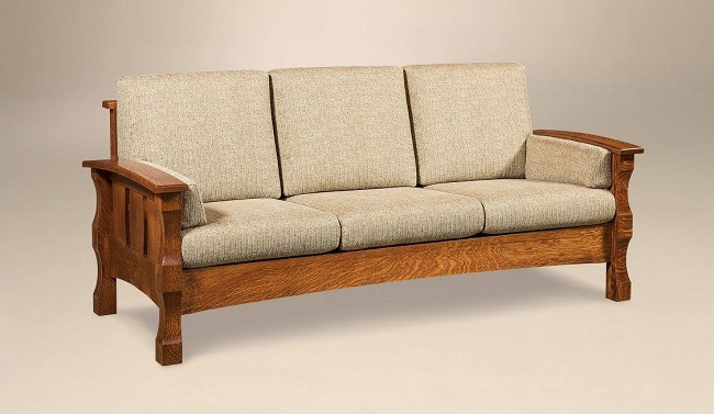 The Perfect Solid Sofa to Relax On This Summer