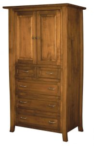 Add a Beautiful Wooden Wardrobe to Your Bedroom Suit