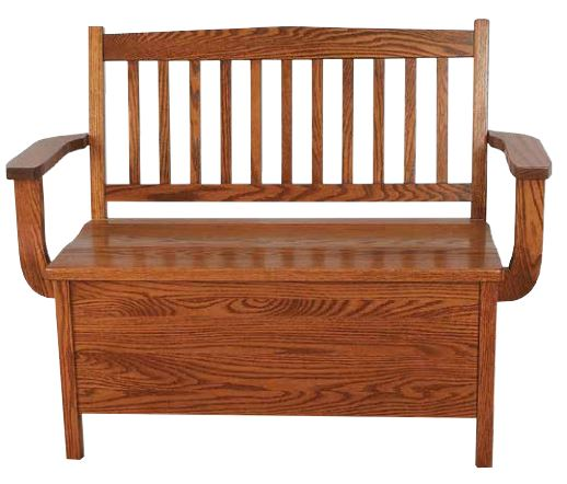 Get a Lovely Wooden Bench with a Stylish Back for Your Entryway