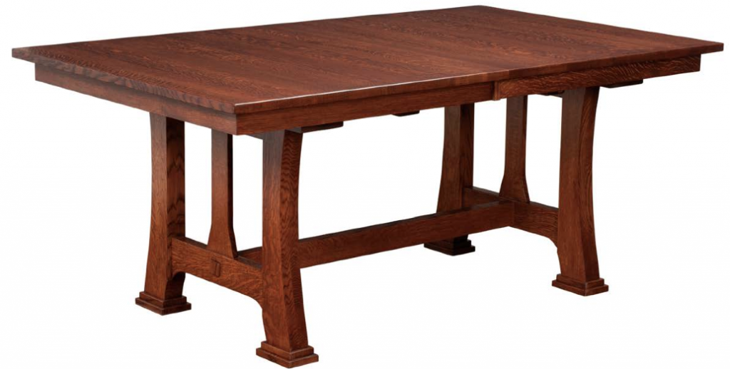 A Beautiful Hardwood Dining Table for Your Next Family Gathering
