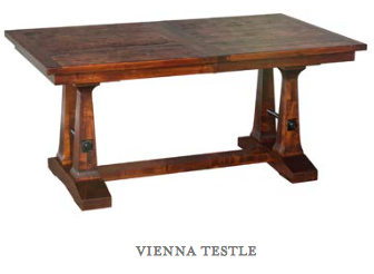 Vienna Testle Dining Table