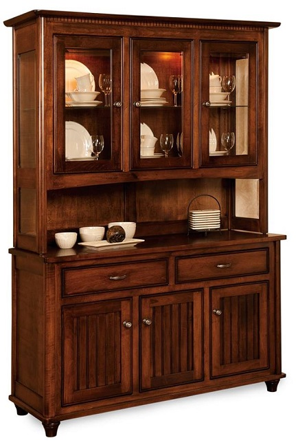 A China Cabinet with Arts and Crafts Style