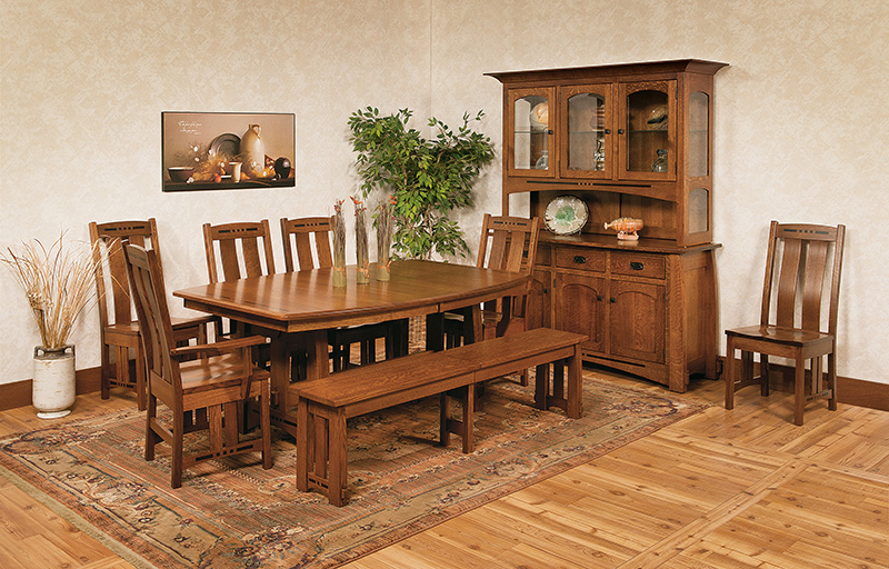 Gorgeous Bench Seating for Your Dining Room Table